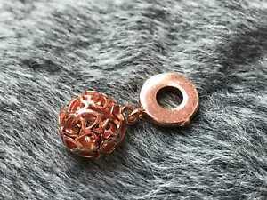 Charm für Pandora Kugel S925 / Rosegold