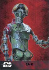 Star Wars Force Awakens S1 Purple Parallel Base Card #30 GA-97