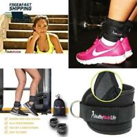Gym Ankle Straps For Cable Machines Resistance Band Heels Women And Men Fitness