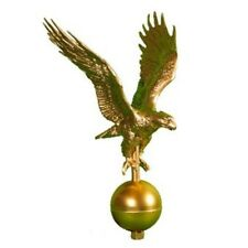 Montague Metal Products Fp-2-Gb Small Gold Bronze Flagpole Eagle