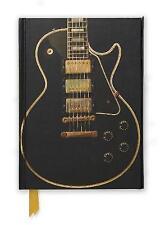 Gibson Les Paul Black Guitar (déjouée journal) par Flame Tree Publishing...