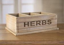Herb Box Kitchen Storage French Provincial Home Decor BRAND NEW