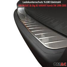 Edelstahl Chrom Ladekantenschutz VW PASSAT 3b 3bg B5 VARIANT Kombi SW 1996-2005