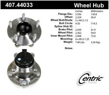 Wheel Bearing and Hub Assembly-Premium Hubs Front Centric 407.44033