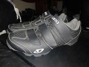GiroRiela R Black Mountain Bike Cycling Shoes Women's Size 9 US 41 EU 2 Bolt