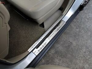 For Nissan X trail T32 Car Accessories 2014 2020 Steel Door Sill Protector Scuff