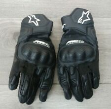 ALPINESTARS SP-5 LEATHER MOTORCYCLE GLOVES SIZE SMALL
