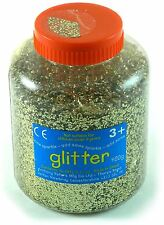 Gold Art And Craft Glitter - 400g Tub