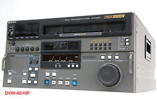 SONY DVW-A510P ANALOG DIGITAL BETACAM PROFI VIDEOPLAYER 100% OK VTR SD PAL #I78
