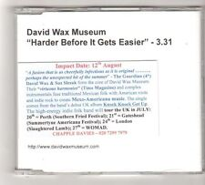 (FZ564) David Wax Museum, Harder Before It Gets Easier - DJ CD