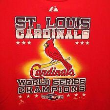 St. Louis Cardinals Men's M World Series 2006 Championship 100% Cotton T-Shirt