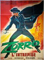 Plakat Kino Zorro DIE UNERSCHROCKENEN - 120 X 160 CM