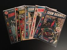 Teen Titans #34 37 38 39 42 Nick Cardy Bronze Age DC Comic Lot 1st Series Run