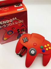 【Boxed】Nintendo 64 Official Genuine controller Red F/S #0923B