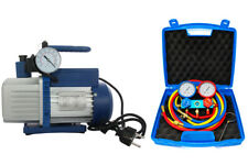 Vakuumpumpe PROFI 70L 2-stufig inkl. Monteurhilfe R410a / R32 -Splitklimaanlagen