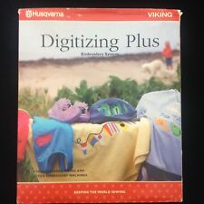 Husqvarna Viking Digitizing Plus Ver 6.2 Embroidery Designs Software