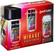 Paint Mirage Base/Mid/Top Coat Lacquer Flat/Gloss Black Red Blue Clear 8 oz Cans