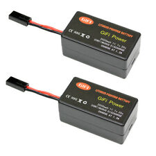 2x Lithium Polymer Battery For PARROT AR.DRONE 2.0 UPGRADE 2000mAh 11.1V 20C x2