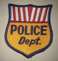Patch New Jersey State Police Shoulder Flash Trooper Original Rarity