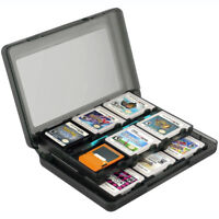 1x boîte carte jeu 24DS pour Nintendo 3DS DSi XL Lite DS Noir ME