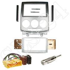 Mazda 5 CR Doppel 2-DIN Blende+ ISO Radio KFZ Kabel+ Antennenadapter Einbau-SET