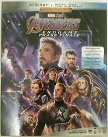 Avengers: Endgame (Blu-ray, Digital, Canadian)  Marvel, Brand NEW w/ Slipcover