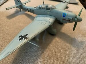 Armour 1:48 Metal Scale JU 87 STUKA Luftwaffe Torpedo Flieger