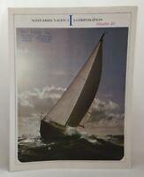 1960s Wayfarer Yacht Corporation Sailboat Product Brochure Islander 32 Boat 3445