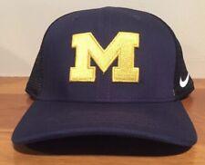 new concept d98a2 48010 Jordan Nike Michigan Wolverines Dri-fit Coaches Swooshflex OSFM Navy Hat cap.   14.95 New. Michigan Wolverines Nike Aerobill Classic 99 Mesh Back Cap Hat  ...