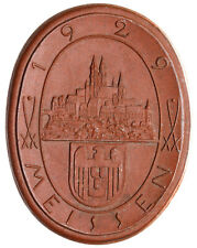 Meissen - Sachsen - 1000 Jahre Meissen - Porzellan-Medaille 1929 - einseitig