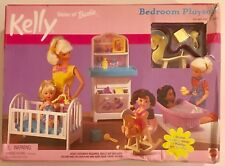 Barbie Doll- Little Kelly  2001 - Bedroom  Playset new in box !