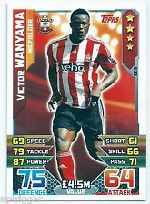 2015 / 2016 EPL Match Attax Base Card (226) Victor WANYAMA Southampton