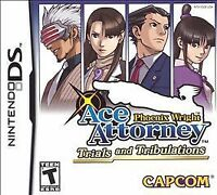 Phoenix Wright: Ace Attorney Trials & Tribulations (Nintendo DS, 2007) GAME ONLY