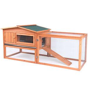 Giant Wood Indoor and Outdoor Wooden Pet House for Rabbit/Chicken/Hem