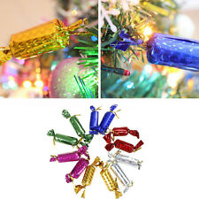 24pcs/lot Bubble Candy Pendants Christmas Tree Ornament Xmas Hanging Decor Hot