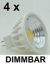 4 x 3 Watt COB LED-Spot Warmweiß MR16 dimmbar ~35 W Halogen - 90° Ausstrahlung