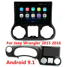 "10.1"" Android 9.1 Stereo Radio 2+32GB GPS Wifi 3G 4G For Jeep Wrangler 2015 2016"