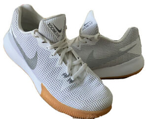 Nike Zoom Live Running Shoes White / Gray (AH7566 100) Men's Size 14