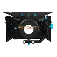 FOTGA DP3000 M3 Matte Box Swing away+Filter Tray For 15mm Rod DSLR Camera Rig US