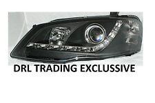 FORD FALCON BF Mk III XT Wagon DRL Style New LED Projector Black Headlights New