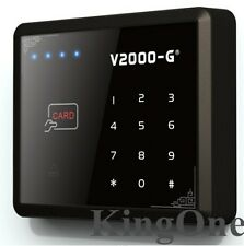 125KHz ID/EM RFID Reader Touch Screen Keypad Door Access Control 1000 Users