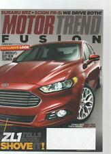 MOTOR TREND CAR MAGAZINE - March 2012