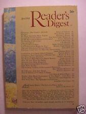 Reader's Digest April 1974 Katharine Hepburn Hank Aaron