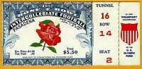 1952 Rose Bowl college football ticket stub Illinois V Stanford w Olympic tab