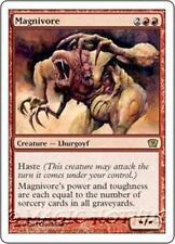 MAGNIVORE Ninth Edition MTG Red Creature — Lhurgoyf RARE