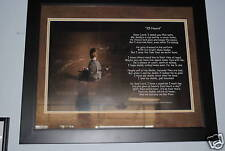 ~25 HOURS~ Law Enforcement Police Prayer Poem Poster Novelty GIFT FROM SON