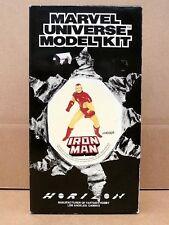 1989 IRON MAN Complete Unassembled Unpainted Marvel Universe Horizon Model Kit !