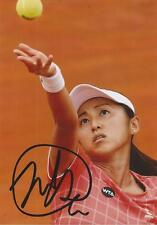 TENNIS: MISAKI DOI SIGNED 6x4 ACTION PHOTO+COA *WIMBLEDON* *PROOF*