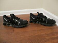 Classic 2005 Used Worn Sz 12 Nike Shox Cognescenti Shoes Black, Metallic Black