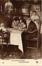 CPA SIMONT La lettre du fornt. Salon de Paris (286822)